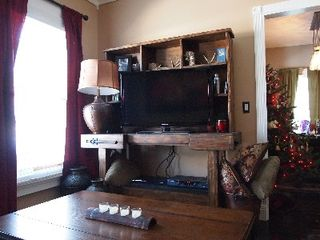 Park City house photo - TV console. Cable included and DVD player too!