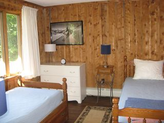 Windham chalet photo - Bedroom with two twin beds