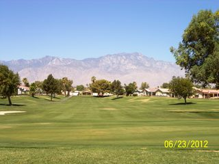 Thousand Palms house photo - View of Mt. San Jacinto from the green on #5.