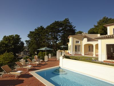 A stylish and secluded villa with a pool, beautiful gardens & views  - Quinta Matalva Main house