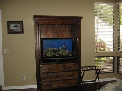 Stylish Armoire with Flat Screen HDTV