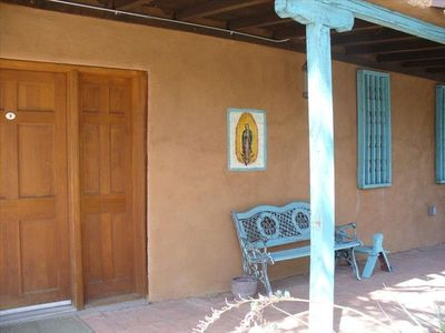 Typical New Mexican Style Porch
