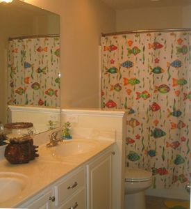 """Under the Sea"" Bathroom/Upstairs Hall"