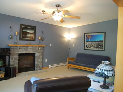 Lake Harmony house rental - Upper Living Room
