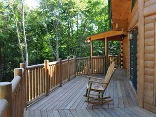 Woodstock lodge photo - Front Deck