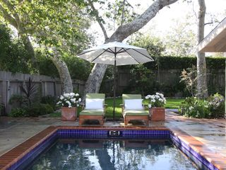 Malibu house photo - A private pool for variety from the ocean. (Removable child fence available.)