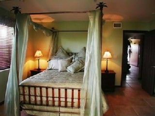 North Captiva Island house photo - Bedroom #2 with bed by Tommy Bahama