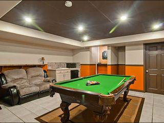 Breckenridge house photo - Game Room with Air Hockey and Pool Table