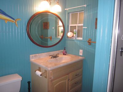 Downstairs cottage bathroom