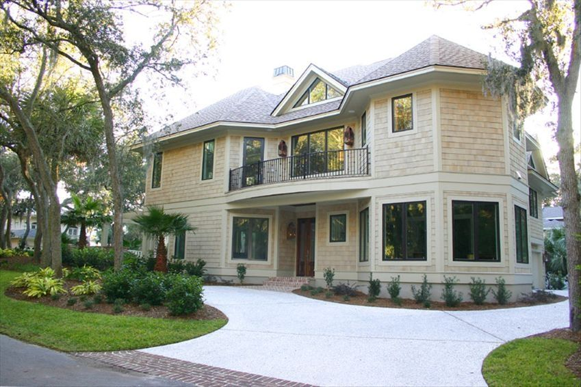 spectacular sea pines 2nd row 6 bedroom ocean home