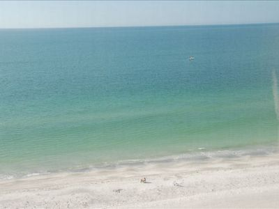Beautiful View from the Balcony, You see nothing but the Beach and Gulf