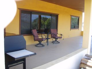 San Quintin house photo - Patio & BBQ