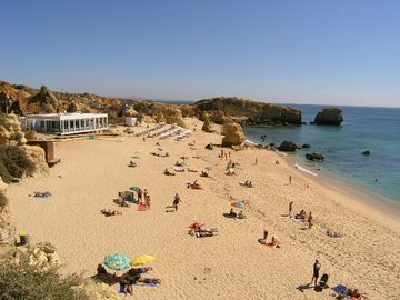 Nearby Sao Rafael beach voted 5th best in Europe