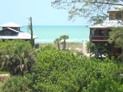 Placida house rental - View from Sundeck