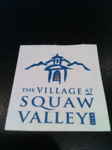 "The Village at Squaw Valley ""Old School"""