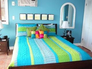 Northside townhome photo - Oceanside Bedroom with a Bright Tropical Flair