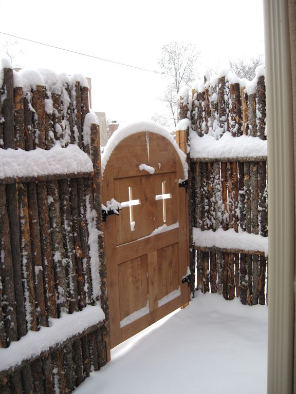 Entry Gate on Christmas Day.