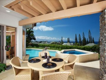 Kapalua house rental - Elegant Ocean View Home