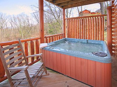 Lower Deck Hot Tub