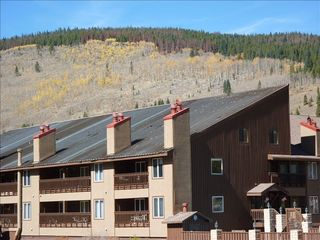 Copper Mountain condo photo - View of Copper Valley Building from Ski Lift