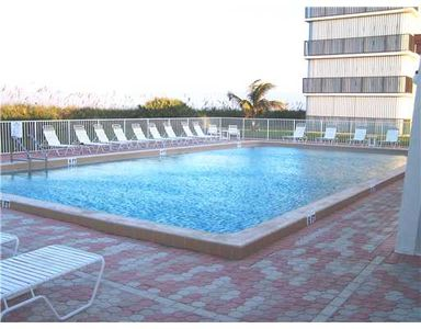 Ocean Towers Heated Swimming Pool just steps from beach