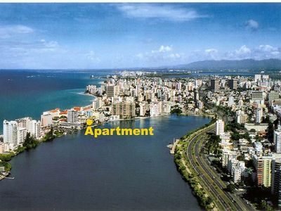 THIS CONDADO VIEW AND LOCATION FOR THE APT.