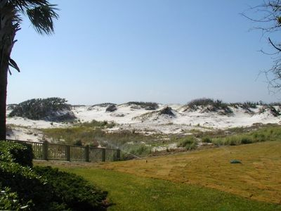 Protected Sand Dunes West Side of the Doral Tower