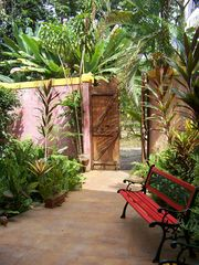 Puerto Viejo bungalow photo - The main gate entrance to your jungle bungalow