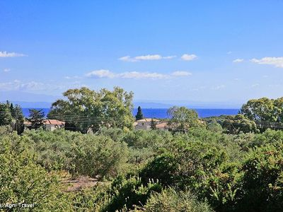 Sea Views From Villa Over Gerakas Beach