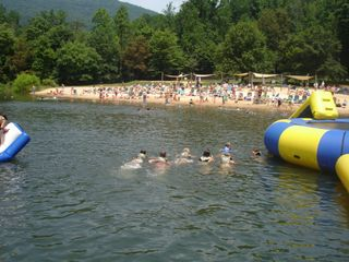 Wintergreen house photo - Lake Monacan in Summer.