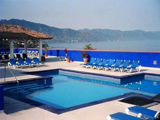Puerto Vallarta condo photo - Heated Rooftop Pool - Spectacular Views of Banderas Bay