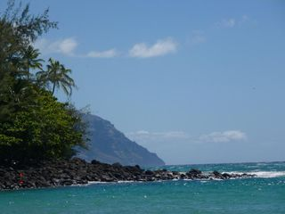 Princeville house photo - Reef Bordering Ke'e Beach, the last beach on the North Shore-fabulous snorkling!