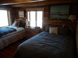 Jackson Hole lodge photo - West Side downstairs with the Tetons Shining in the Morning.