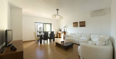 Estoril apartment rental - Luxury comfortable living room