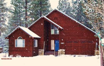 Tahoe Donner house rental - First Snow of the Year