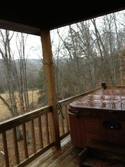 Fayetteville house photo - Back Deck/Hot Tub