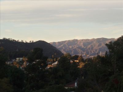 View of Silverlake/Griffith Park Greenbelt
