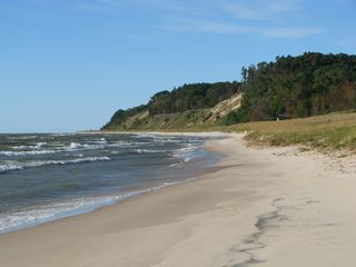 Montague cabin photo - This spectacular sandy beach awaits you!