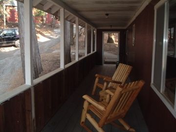 Pioneer house rental - Lots of covered Porch areas.