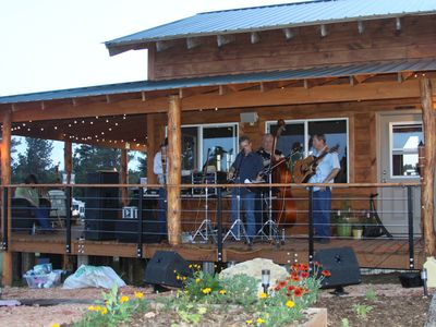 live blue grass band last summer