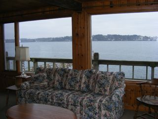 Harpswell cottage photo - View from the living room - Rocca di Mare