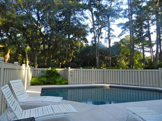 Sea Pines house photo - Pool in courtyard
