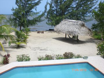 Pool and Palapa