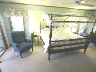 Lake Toxaway house photo - Master Suite with King Size Canopy Bed