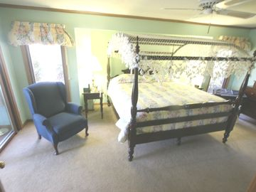 Master Suite with King Size Canopy Bed