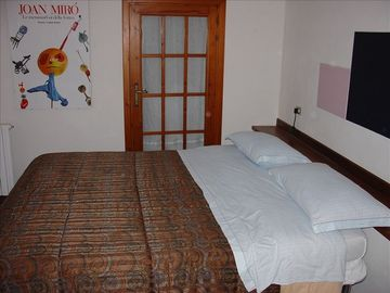 The bed-room of the Apt 2 (Mansarda-Attico)