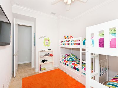 Colorful First Floor Bedroom