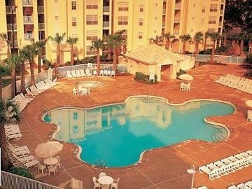 Orlando condo rental - Hit the pool after enjoying Disney World.