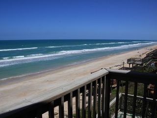 New Smyrna Beach house photo - View of the Beach to the South! What a view!