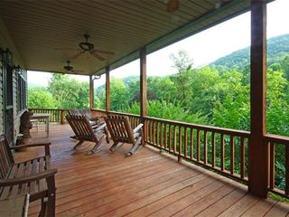 Hiawassee estate photo - Main Porch View - Cooking Grills